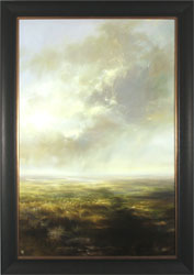 Clare Haley, Original oil painting on panel, Far and Away