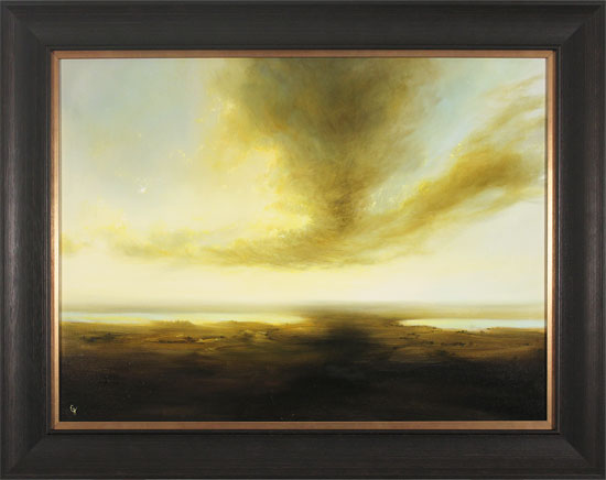 Clare Haley, Original oil painting on panel, Moorland Drift