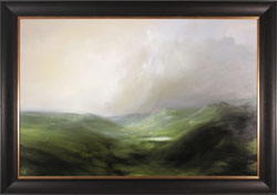 Clare Haley, Original oil painting on panel, The Rolling North