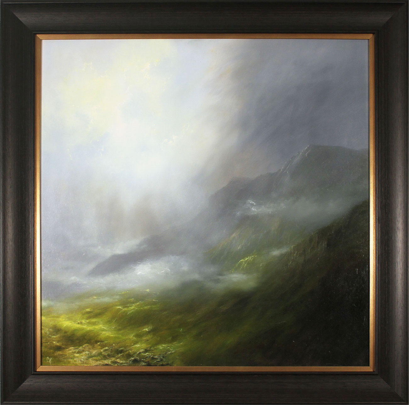Clare Haley, Original oil painting on panel, Glorious Day Click to enlarge