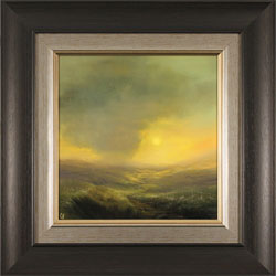 Clare Haley, Original oil painting on panel, Warmth in the Air Medium image. Click to enlarge