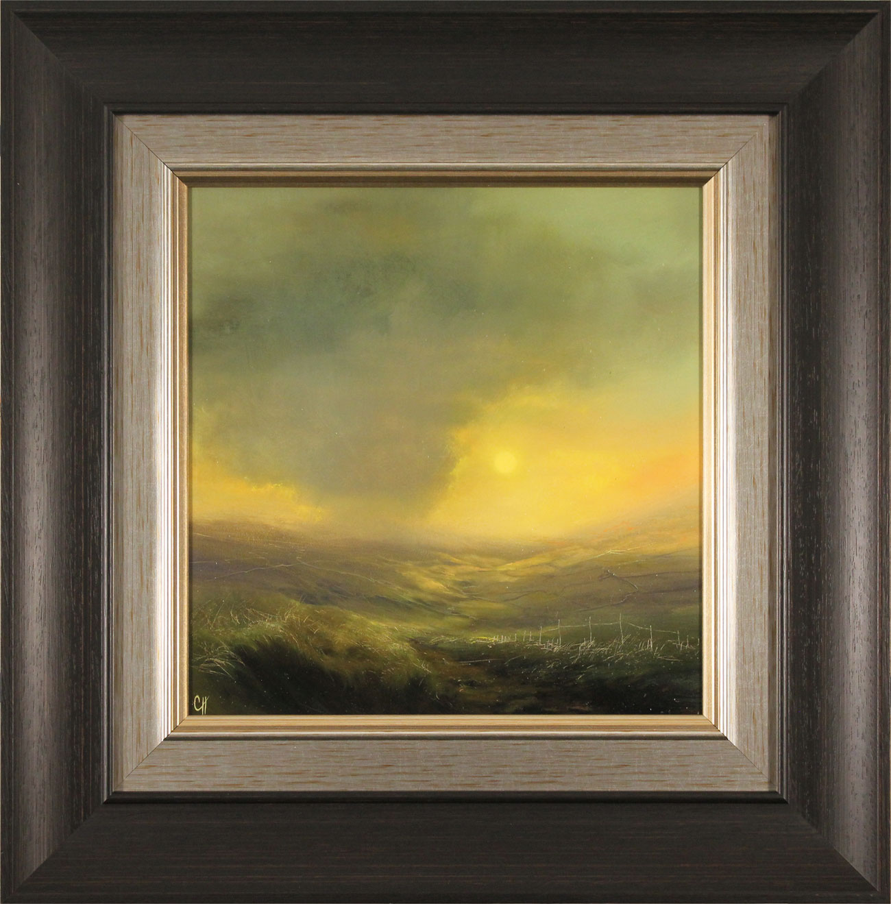 Clare Haley, Original oil painting on panel, Warmth in the Air Click to enlarge