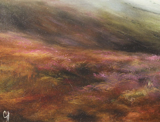 Clare Haley, Original oil painting on panel, A Fine Yorkshire Day Signature image. Click to enlarge