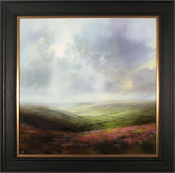 Clare Haley, Original oil painting on panel, A Fine Yorkshire Day Medium image. Click to enlarge