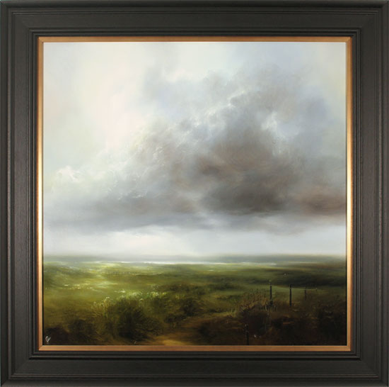 Clare Haley, Original oil painting on panel, Always Head North