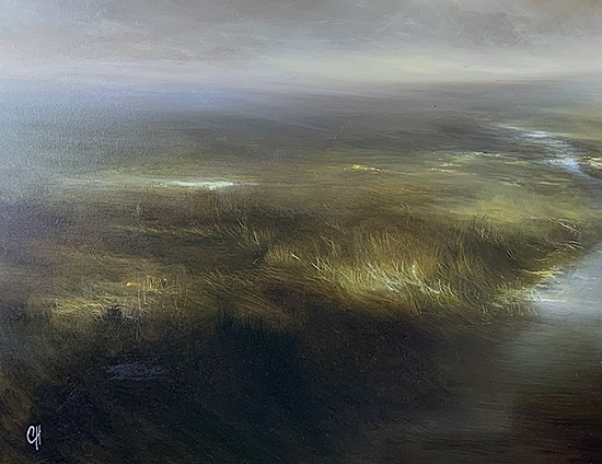 Clare Haley, Original oil painting on panel, In the Light of the Morning Sun Signature image. Click to enlarge