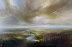 Clare Haley, Original oil painting on panel, In the Light of the Morning Sun Medium image. Click to enlarge