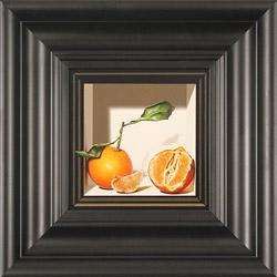 Colin Wilson, Original acrylic painting on board, Sicilian Oranges  Medium image. Click to enlarge