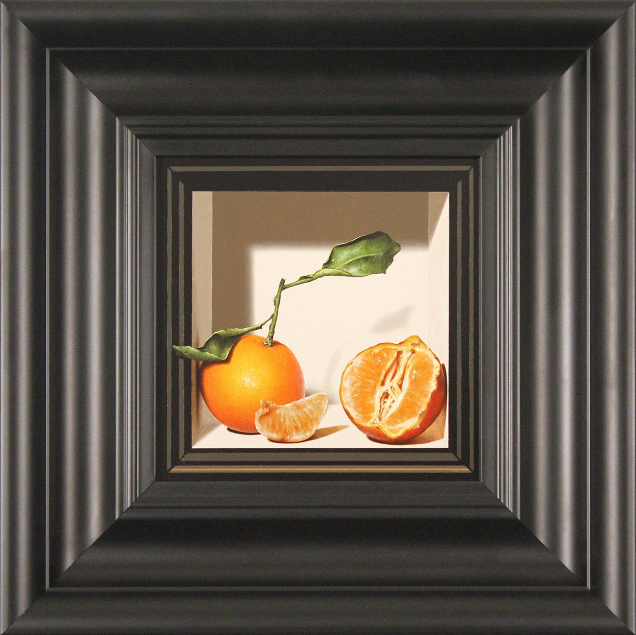 Colin Wilson, Original acrylic painting on board, Sicilian Oranges  Click to enlarge