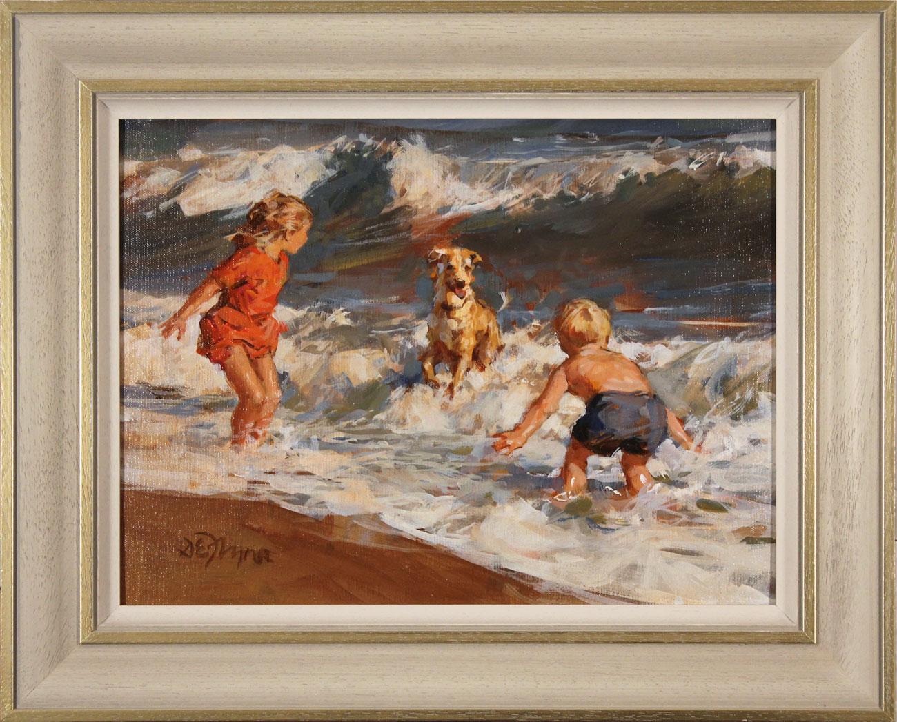 Dianne Flynn, Original acrylic painting on board, Splash! Click to enlarge