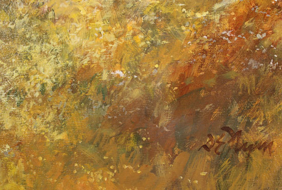Dianne Flynn, Original acrylic painting on canvas, Summer Afternoon Signature image. Click to enlarge