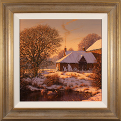 Edward Hersey, Original oil painting on canvas, Evening Glow