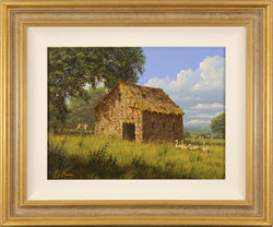 Edward Hersey, Original oil painting on canvas, Summer Solitude