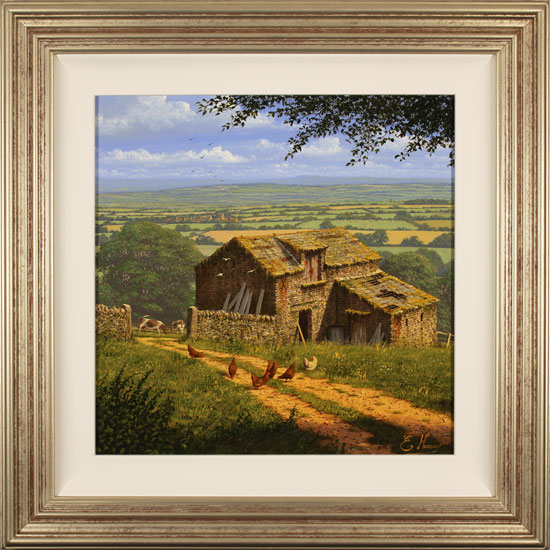 Edward Hersey, Original oil painting on canvas, Into the Vale