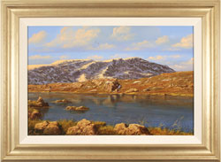Edward Hersey, Original oil painting on canvas, Innominate Tarn