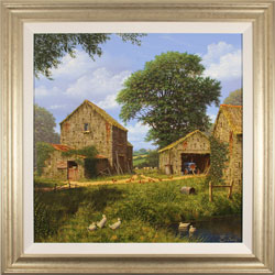 Edward Hersey, Original oil painting on canvas, Days Gone By