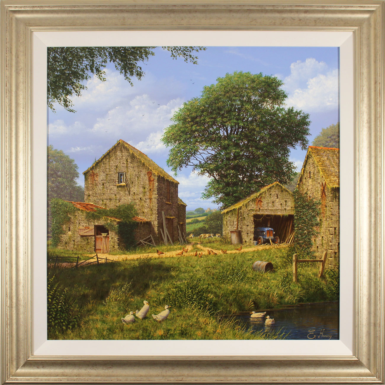 Edward Hersey, Original oil painting on canvas, Days Gone By Click to enlarge