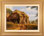 Edward Hersey, Original oil painting on canvas, Stone Barn, North Yorkshire