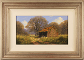 Edward Hersey, Original oil painting on panel, Landscape