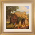 Edward Hersey, Original oil painting on canvas, Commander of the Yard