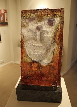 Fredrik K.B, Glass and Larvikite Emerald Pearl, In The Dream Medium image. Click to enlarge