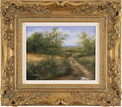 George Atkinson, Original oil on panel, Vale of York
