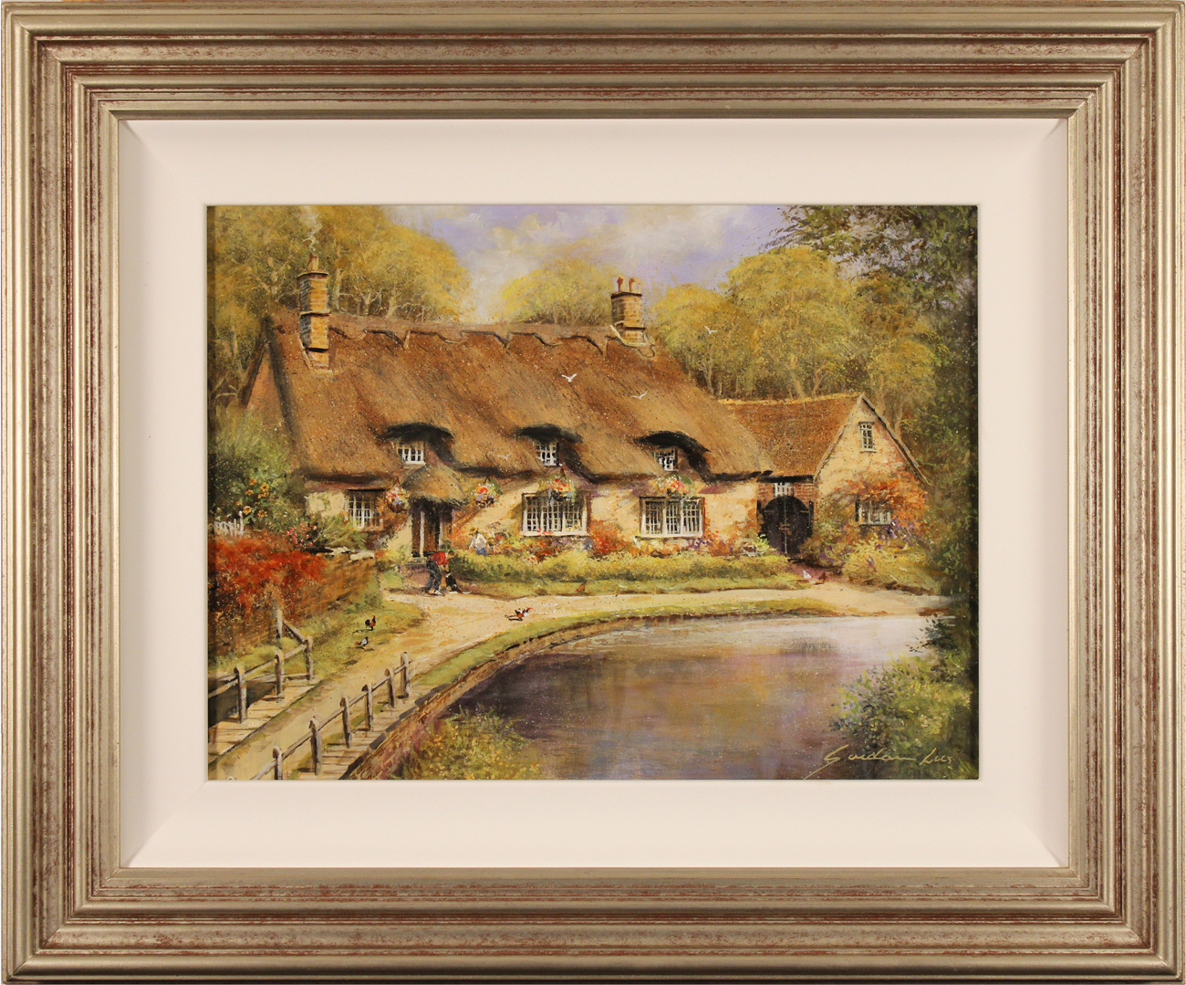 Gordon Lees, Original oil painting on panel, Thornton le Dale, North Yorkshire Click to enlarge