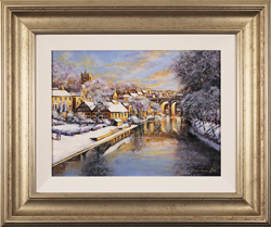Gordon Lees, Original oil painting on panel, Winter Sun