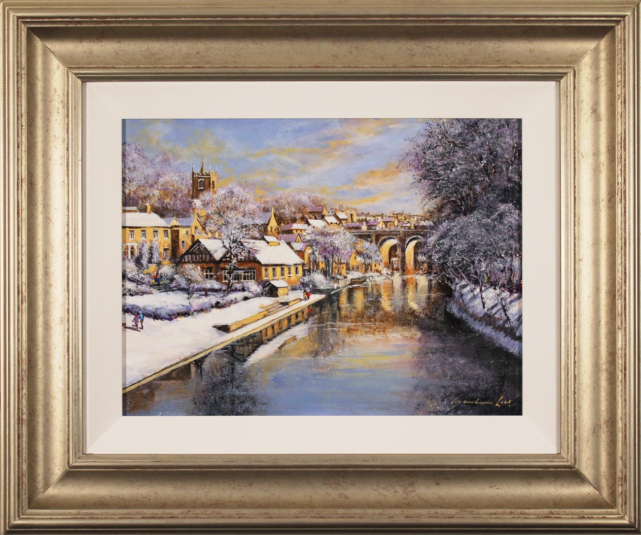 Gordon Lees, Original oil painting on panel, Winter Sun Click to enlarge