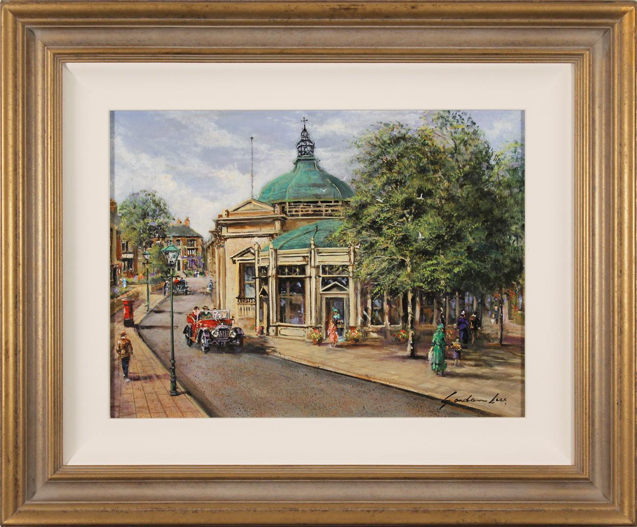 Gordon Lees, Original oil painting on panel, The Royal Pump Room, Harrogate Click to enlarge