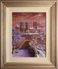 Gordon Lees, Original oil painting on canvas, Lendal Bridge, York
