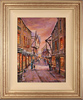 Gordon Lees, Original oil painting on canvas, The Shambles, York Medium image. Click to enlarge