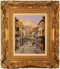 Gordon Lees, Original oil painting on canvas, Stonegate, York