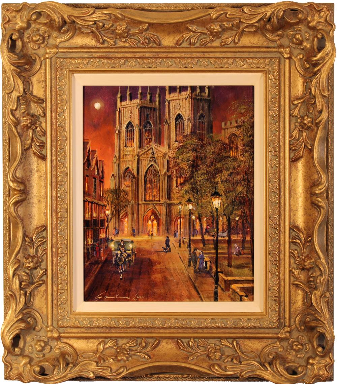 Gordon Lees, Original oil painting on canvas, York Minster Click to enlarge