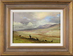 Howard Shingler, Original oil painting on panel, North Highlands Medium image. Click to enlarge