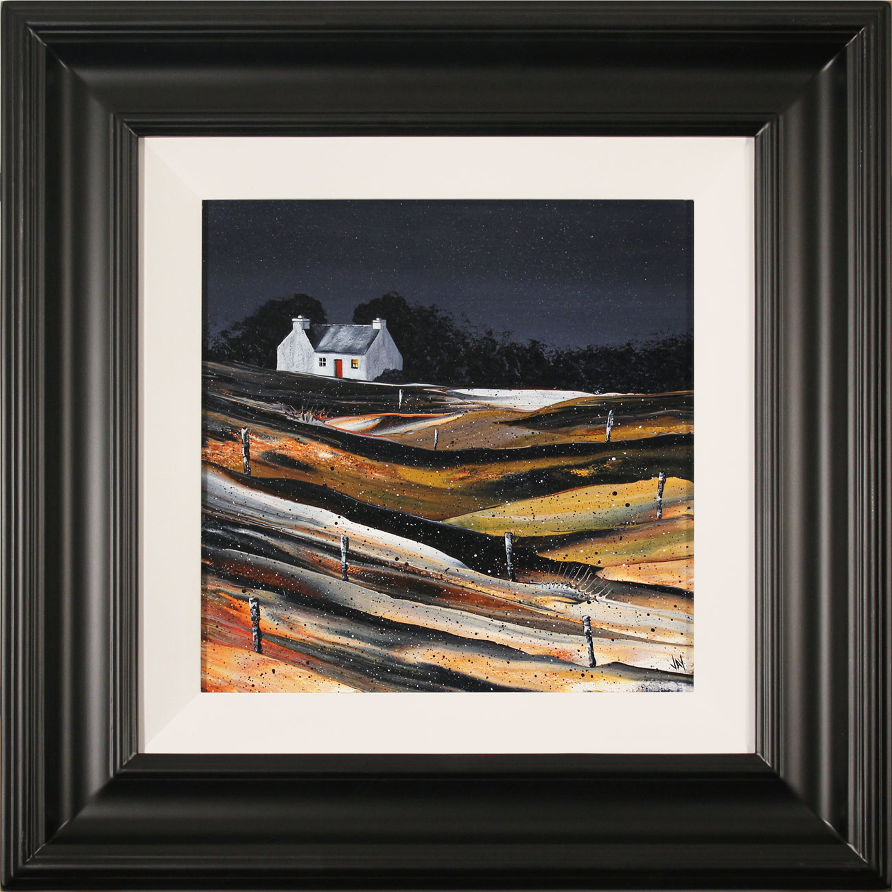Jay Nottingham, Original oil painting on panel, Fisherman's Cottage Click to enlarge