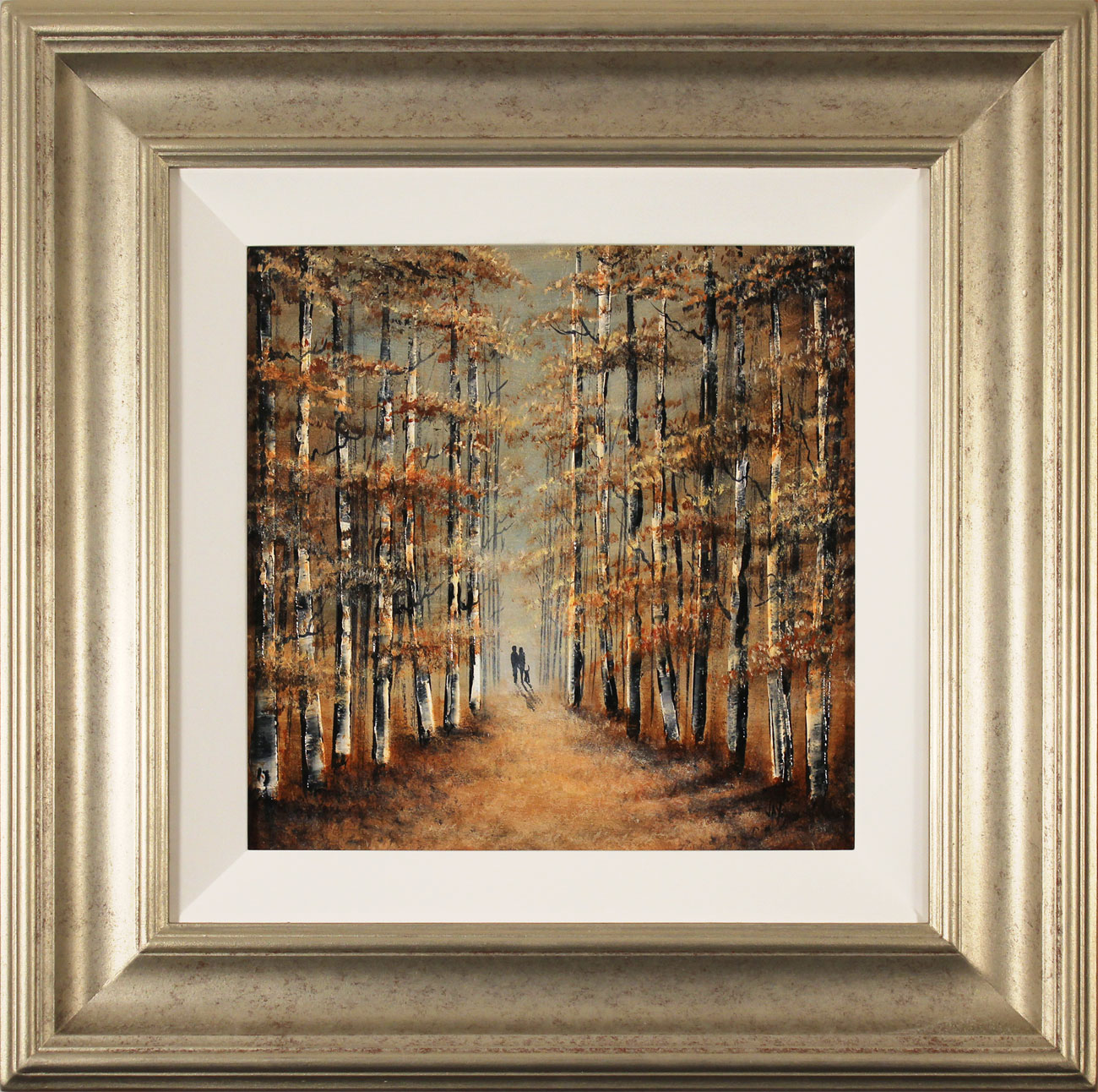 Jay Nottingham, Original oil painting on panel, A Walk in the Wood Click to enlarge