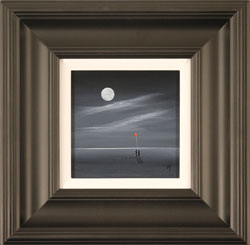 Jay Nottingham, Original oil painting on panel, Moonlight Meeting Medium image. Click to enlarge