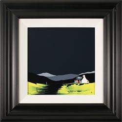 Jay Nottingham, Original oil painting on panel, Harvest Cottage Medium image. Click to enlarge