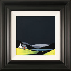 Jay Nottingham, Original oil painting on panel, Rainbow's End Cottage Medium image. Click to enlarge