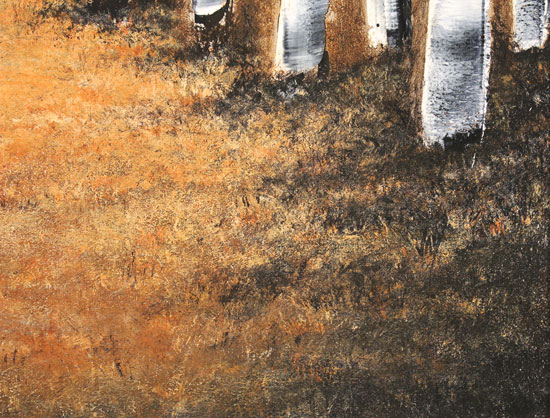 Jay Nottingham, Original oil painting on panel, Autumn Canopy Signature image. Click to enlarge
