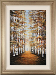 Jay Nottingham, Original oil painting on panel, Autumn Canopy Medium image. Click to enlarge