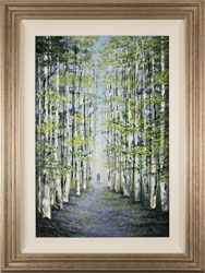 Jay Nottingham, Original oil painting on panel, Woodland Wander Medium image. Click to enlarge