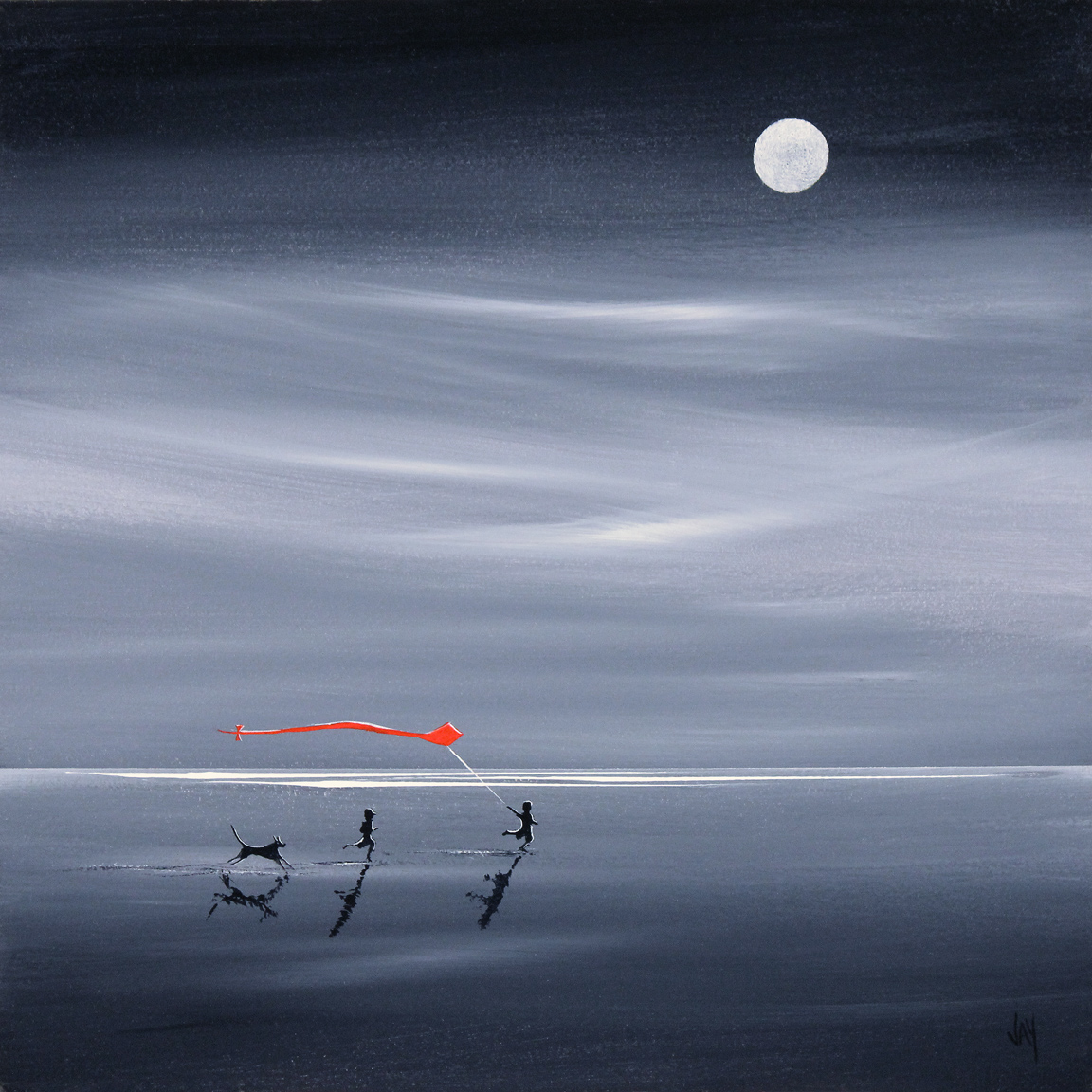 Jay Nottingham, Signed limited edition print, Moonlight Games Click to enlarge