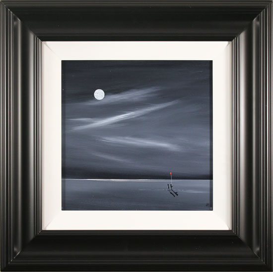Jay Nottingham, Original oil painting on panel, By The Light Of The Moon