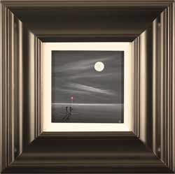 Jay Nottingham, Original oil painting on panel, Moonlight Gift