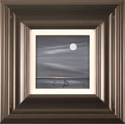 Jay Nottingham, Original oil painting on panel, Moonlight Games Medium image. Click to enlarge