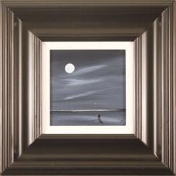Jay Nottingham, Original oil painting on panel, Moonlight Stroll Medium image. Click to enlarge