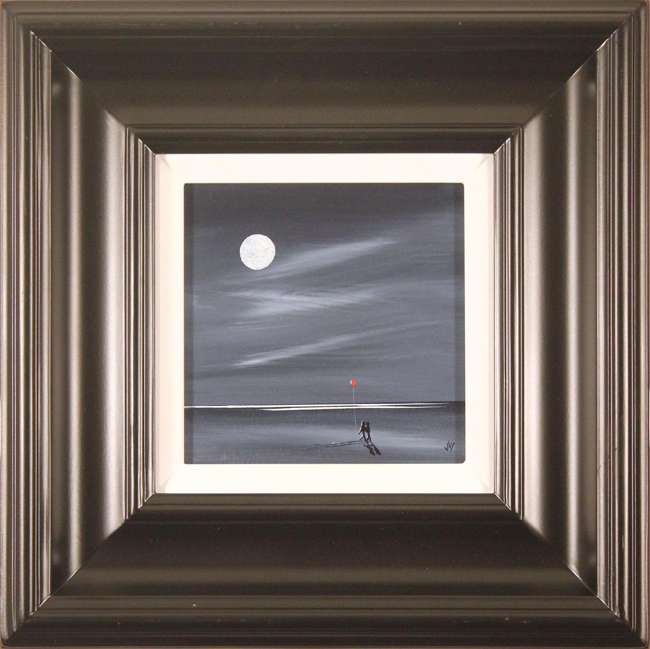 Jay Nottingham, Original oil painting on panel, Moonlight Stroll Click to enlarge