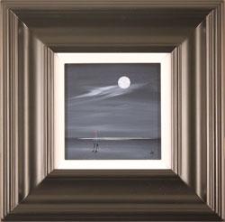 Jay Nottingham, Original oil painting on panel, Moonlight Surprise Medium image. Click to enlarge